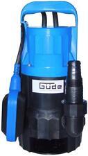 Güde Schmutzwassertauchpumpe GS 4000 Gartenpumpe Fäkalienpumpe 7000 l/h 400 Watt