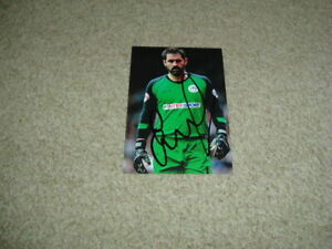 SCOTT CARSON - WIGAN ATHLETIC - SIGNED 6 X 4 PHOTOGRAPH