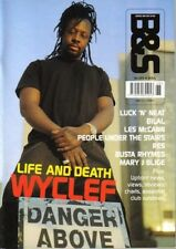 Wyclef on Blues & Soul Magazine Cover 2002  People Under The Stairs  Les NcCann
