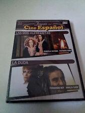 """DVD """"LAS DOS HUERFANITAS / LA DUDA"""" PRECINTADO FERNANDO REY ISABELLA SAVONA PATR"""