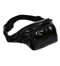 METALLIC BUM BAG  TRAVEL WAIST FANNY PACK FESTIVAL MONEY BELT HOLIDAY WALLET .