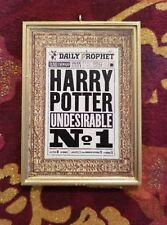 Undesirable No. 1 Daily Prophet Handmade Christmas Tree Ornament Harry Potter