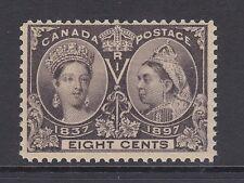 Canada Sc 56 MLH. 1897 8c Queen Victoria Jubilee F-VF