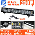 "20inch 210W Philips LED Work Light Bar Flood Spot Combo Offroad 4x4 ATV 23""/240w"