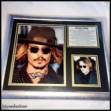 Johnny Depp Autograph Photographs Frame Authentic Signed Pen FAST📮