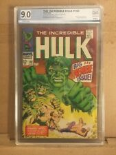 Incredible Hulk  #102 1st Issue PGX 9.0 Not CGC