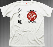 SHOTOKAN KARATE Martial Arts MMA UFC white cotton t-shirt TC01460