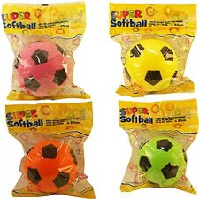 Super soft football sponge ball size 5 indoor outdoor soccer toy colour may vary