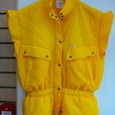 Rare Adidas Body warmer/Gilet Bright Yellow Size L 80s Style, Great Condition!!