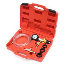 New 6pcs Vacuum Purge Refill Tool Kit Radiator Pressure Tester Cooling System