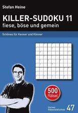 Stefan Heine Killer-Sudoku 11 fiese, böse und gemein