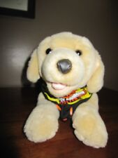 Harley-Davidson Stuffed Yellow Labrador