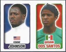 TOPPS ENGLAND 2014- #065-340-MEXICO-GIOVANI DOS SANTOS-USA-EDDIE JOHNSON