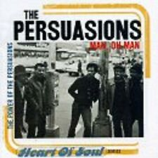 Man Oh Man: Power of Persuasions By The Persuasions  , Music CD