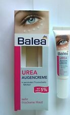 Balea Eye-Contour Cream for With 5 % UREA for Very Dry Lines & Wrinkle 15 ml