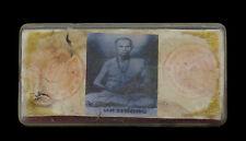 Boite Amulette magique Thai Takrud takrut LP Thob Wat Chang Puak Temple 866