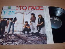 Face To Face - Confrontation - LP Record  VG+ VG+