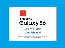 Samsung Galaxy S6 User Manual for Verizon (model SM-G920V)