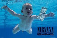 NIRVANA NEVERMIND ALBUM COVER POSTER (61x91cm) KURT COBAIN PICTURE PRINT NEW ART