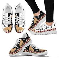 Golden Retriever Dog Shoes - Women's Sneakers