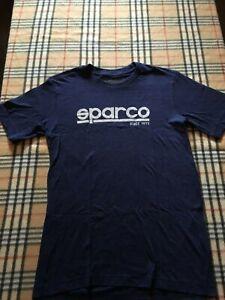 "SPARCO ""Corporate"" Men's T-Shirt, Navy Blue"