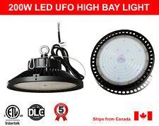 200W High Bay LED Light UFO 29000Lm cETL DLC Certified 5000K (Daylight)