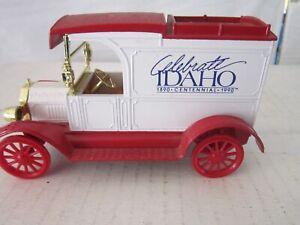Ertl Die Cast Replica Ford 1913 Delivery Van Celebrate Idaho Bank