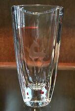 STROMBERGSHYTTAN Swedish Art Glass Crystal Mid Century c1950 Vase