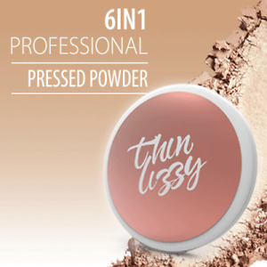 NEW THIN LIZZY 6 in 1 Professional Powder Compact Light Shade