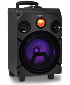 Bush High Power Bluetooth Party Speaker | Portable Performance Speaker | Black