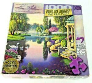 Secret Garden 1000 Piece Jigsaw Puzzle Masterpieces WORLDS LONGEST PUZZLE FULL