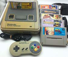 Super Famicom Konsolen Set 1 (Controller,Kabel, 6 Games) - C-Ware