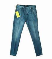 TELERIA ZED Jeans donna chino colore denim medio