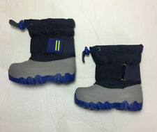 Toddler Boys Waterproof Winter Boots Blue Size 4 Cat and Jack Barrett