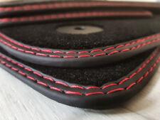 Fußmatten für Seat EXEO 3R Bj.2003-2012 Velours Neu Doppelnaht rot-rot