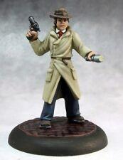 Max Graves Pulp Era Investigator Reaper Miniatures Chronoscope Detective Modern