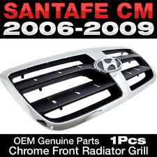 OEM Genuine Parts Chrome Radiator Grill Front Grille For HYUNDAI 06-09 Santa fe