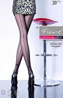Fiore - Collant fantaisie sexy à couture et motif référence Miriam