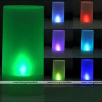 7 Colors Change LED Candle Flicker Tea Light Flameless Electronic Battery Lamp