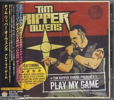 Tim ripper Owens play my game rare Japon-CD with Obi Heavy Metal judas priest