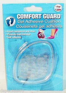 1 Pair Comfor Guard Gel Adhesive Cushion A Soft Cushion In Any Shoe