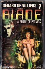 JEFFREY LORD ° BLADE n°7 ° LA PERLE DE PATMOS ° 1977