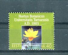 Estonia 2003 Francobollo Bicentenario giardino botanico Università di Tartu MNH