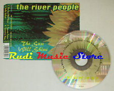 CD Singolo THE RIVER PEOPLE Sun will shine 1997 WATERLINE WATER001CD (S1) mc dvd