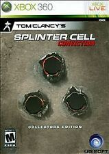 Tom Clancy's Splinter Cell: Conviction Collector's Edition  (Xbox 360) BRAND NEW