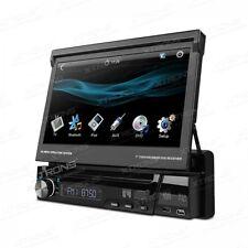 """SINGLE DIN 1 DIN 7"""" HD Screen Autoradio USB SD Rückfahrkamera MP3 ID3 DVD 4x45W"""