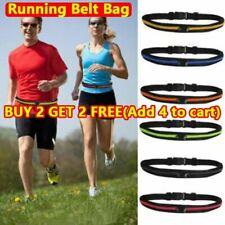 Waist Running Zip Belt Lycra Bum Bag Pocket Hiking Cycling Jog Gym Fitness Pouch