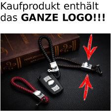 Leder Schlüsselanhänger für BMW 3er X1 X5 X6 X3 M3 1er Z3 M5 M6 Braun Luxus Edel