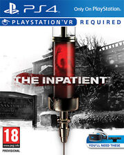 The Inpatient (VR Required) PS4 Playstation 4 IT IMPORT