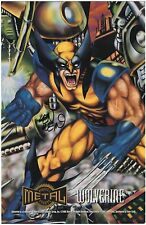 Wolverine print SIGNED by Co-creator LEN WEIN, Marvel Metal Prints